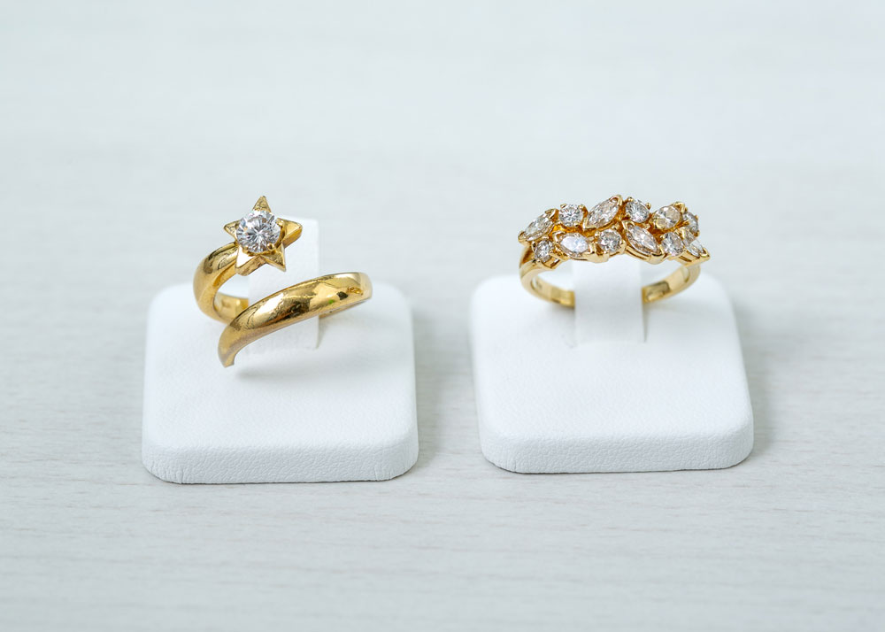 ダイアモンド指輪