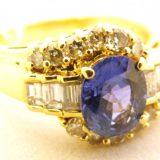 写真:サファイア ダイヤモンド リング 買取しました!