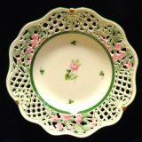 写真:ヘレンド 透かし彫り飾り皿 買取しました!