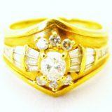 写真:ダイヤモンド リング 買取しました!