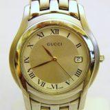 写真:グッチ メンズ腕時計 買取しました!